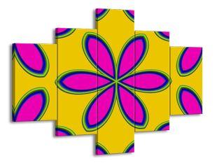 Malovaná květina