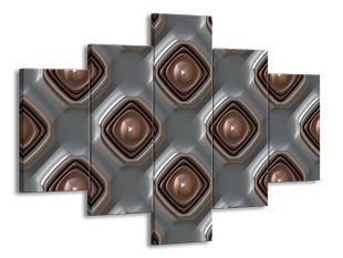 Kachlice kovový efekt 2