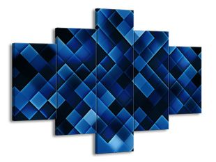 Kostičky modré