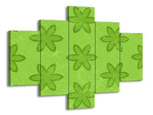 Zelené kytičky
