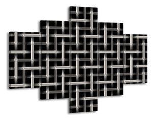 Mříže kovový efekt