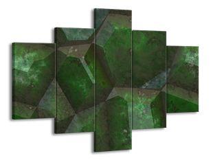 Krystal zelený