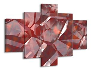Krystal červený