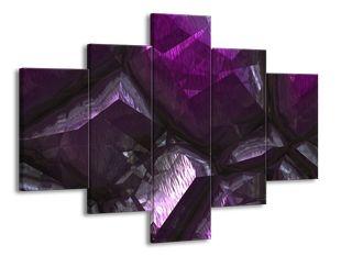 Fialové krystaly