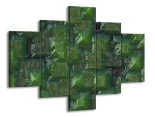 Matná zelená