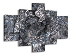 Kovový povrch efekt