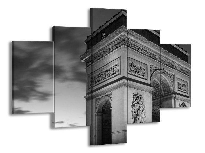 Vícedílný obraz Vítězný oblouk Paříž 100x70 cm
