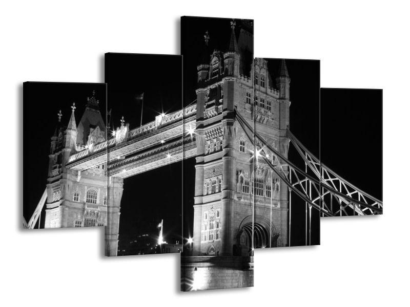 Vícedílný obraz Tower Bridge Londýn 100x70 cm
