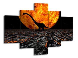 Dinosaurus a slunce