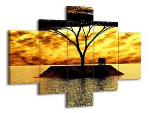 Strom na ostrově