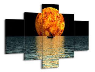 Ohnivá planeta a loď