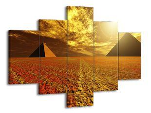 Pyramidy a poušť
