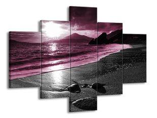 Píšečná pláž fialová