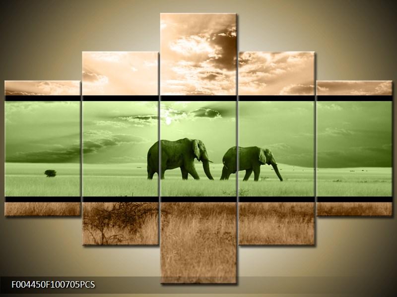 Sloni v savaně