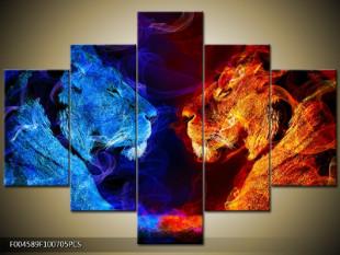 Kouřoví lvi dvoubarevně