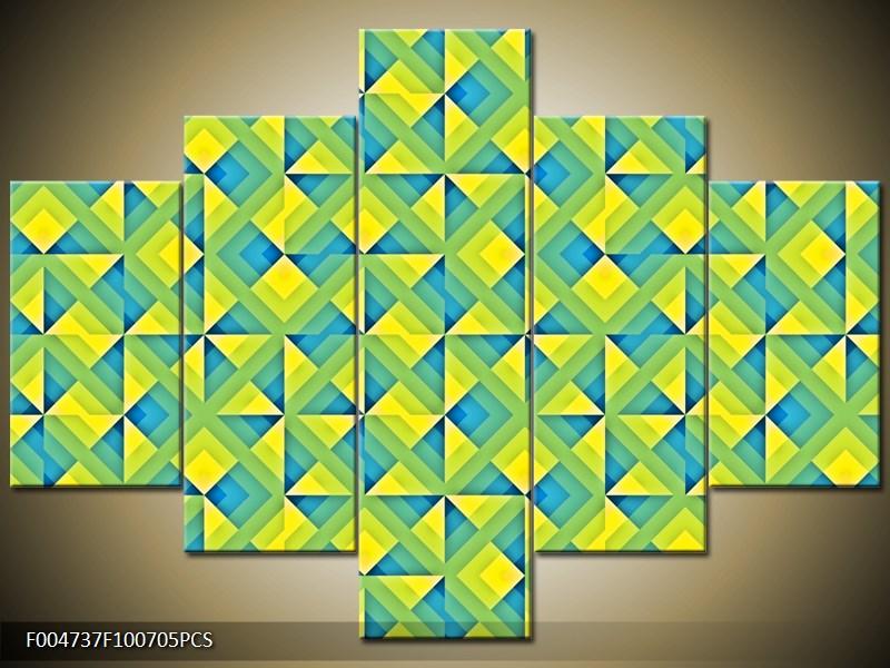 Kostkovaná mozaika