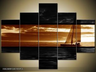 Plachetnice na vodě