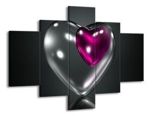 Průsvitné srdce