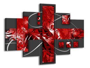 Červený symbol