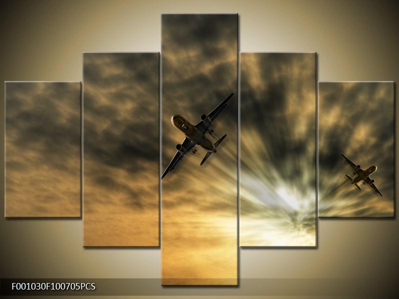 Letadla na nebi