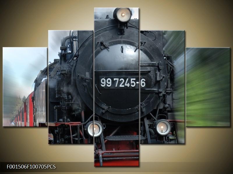 Vlak v pohybu