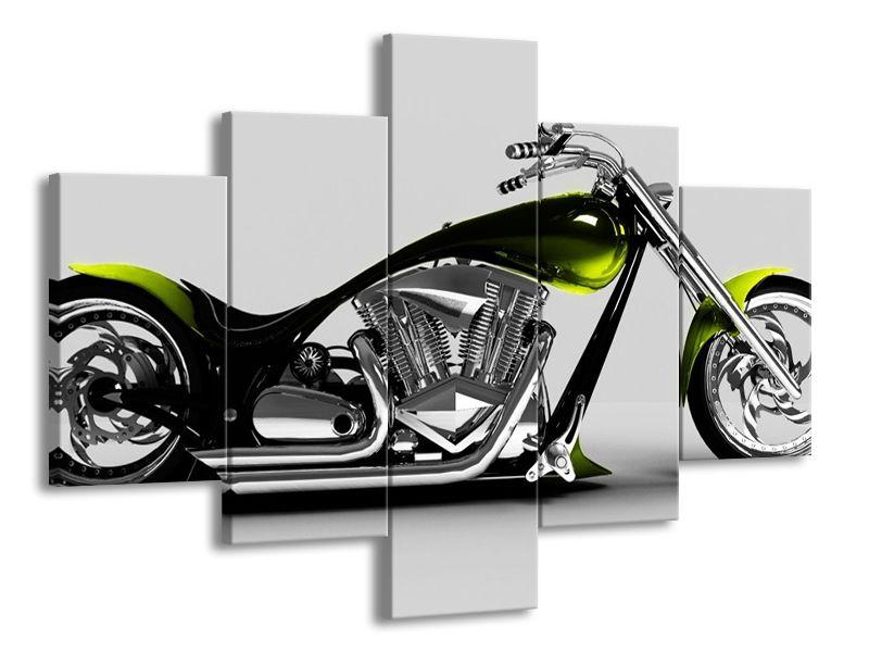 Motorka zelená