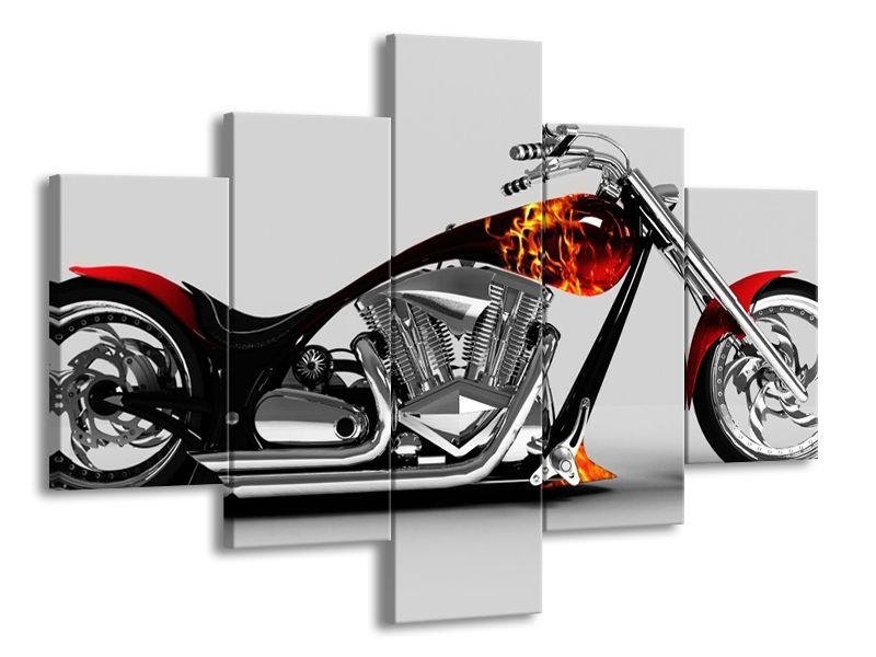 Ohnivá motorka