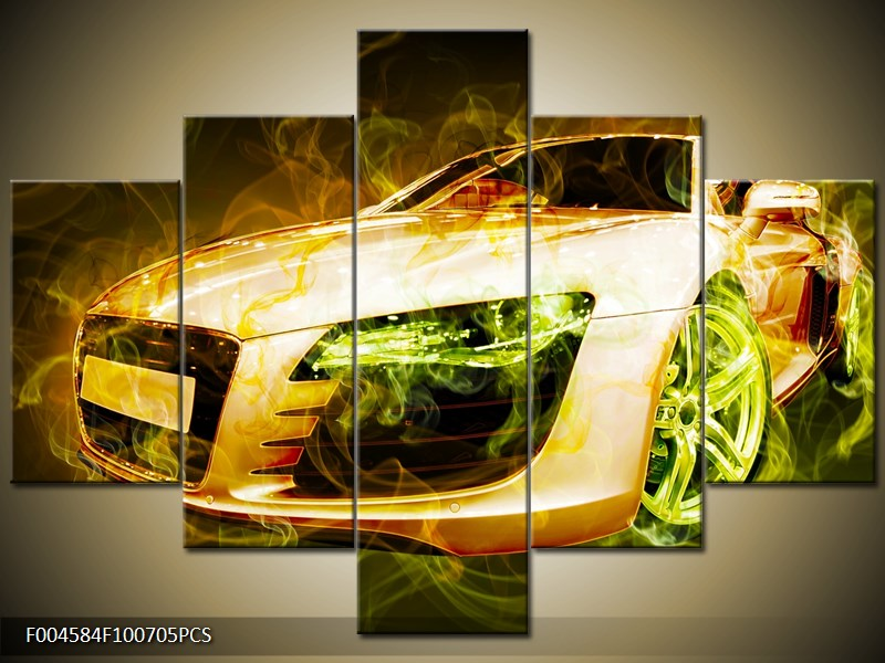 Auto kouřový efekt