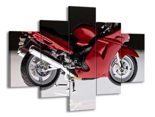 Červená motorka 2