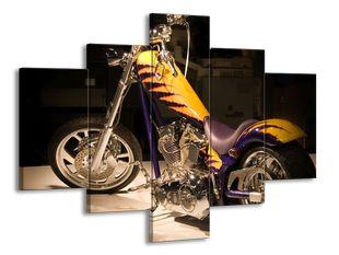 Tygrovaná motorka