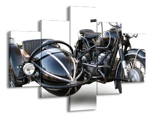 Motorka s vozítkem
