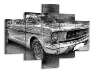 Auto černobíle