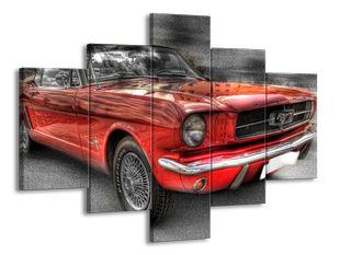 Auto červené 2
