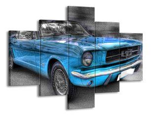 Modré auto