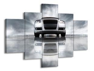 Auto kovový efekt