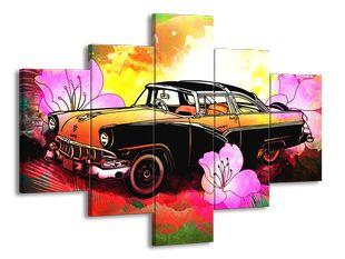 Auto kreslené