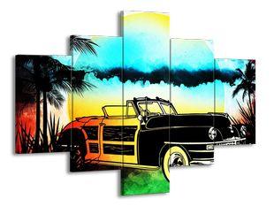 Auto v létě