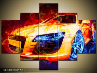 Auto ohnivý efekt