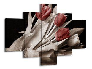 Pokropené tulipány