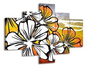 Květiny bílé