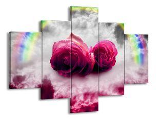 Růže a duha