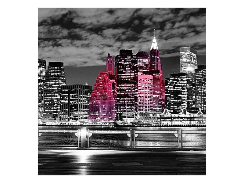 Vyhlídka na noční velkoměsto