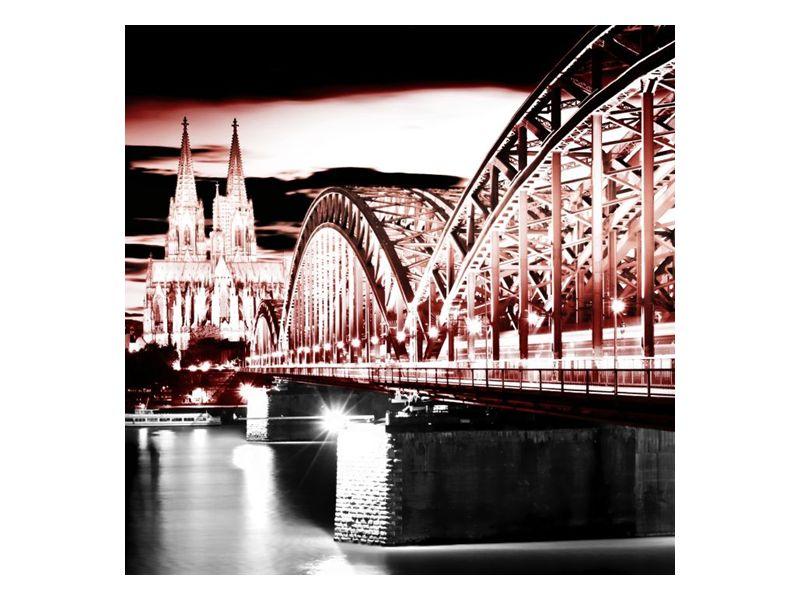 Most ke kostelu temný