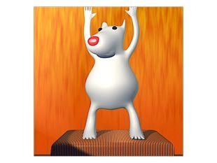 Bílá myška