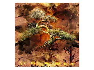 Strom v patině