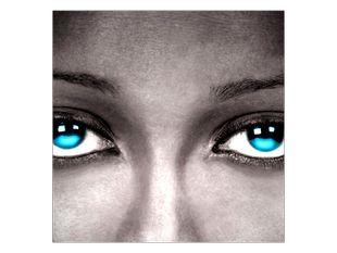Tyrkysové oči