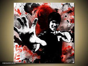 Bojový postoj Bruce Lee