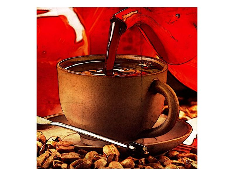 Kávový dýchánek