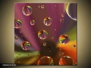 Duhové kapky vody