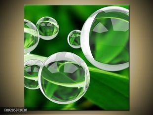 Zelené bubliny